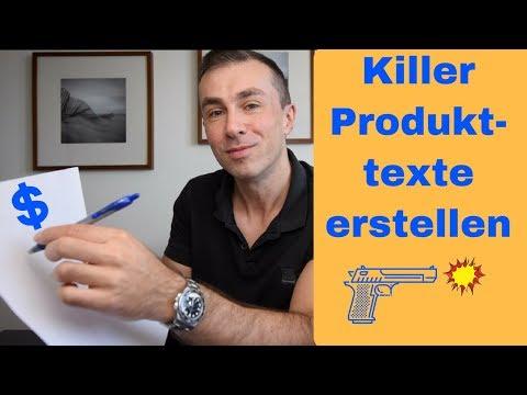 Killer Produktbeschreibung Erstellen Die Dein Artikel Zum Bestseller Macht, Mit Beispiel