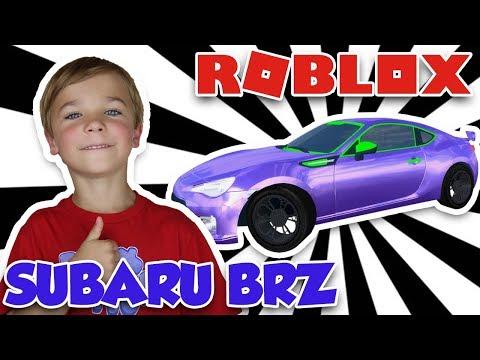 MY BRAND NEW SUBARU BRZ in ROBLOX VEHICLE SIMULATOR | DRAG RACES | CAR STUNTS