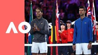 Australian Open 2019 Men's Final Ceremony