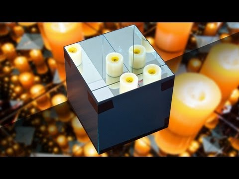 Can you trap light in a box of mirrors? (Ron Brinkmann)