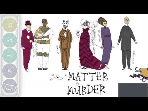 A Matter of Murder Gameplay ~ A First Look at A Matter of Murder ~ 01 ~ A Mystery Game Like Clue