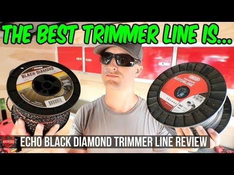 The Best Trimmer Line | Echo Black Diamond Vs Oregon Trimmer Line