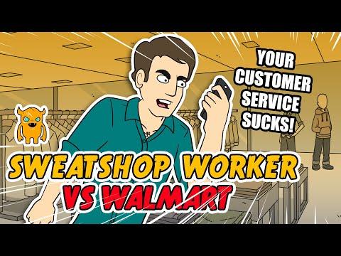 Sweatshop Worker Vs. Walmart - Ownage Pranks