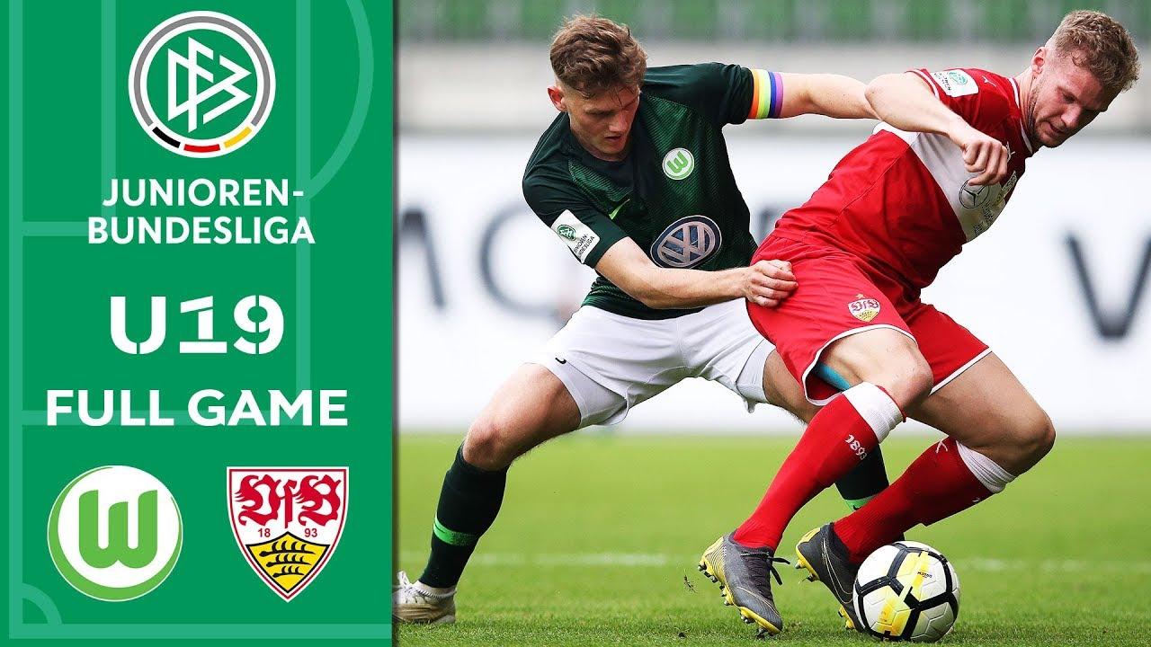 VfL Wolfsburg vs. VfB Stuttgart 3-4 a.p. | Full Game | U19 Bundesliga | Semi Final | 2nd Leg