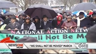 Recap Of The National Action Network's 'we Shall Not Be Moved' March And Rally