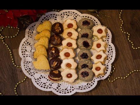 4 vrste sitnih kolača od jedne mase