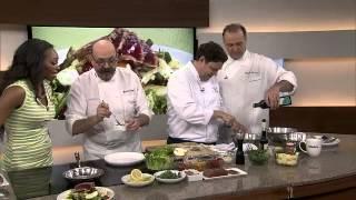 Grilled tuna & niçoise salad