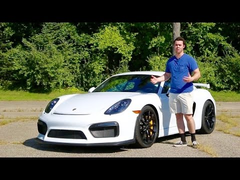 Why The Porsche Cayman GT4 Is The Most FUN Car For $100k!