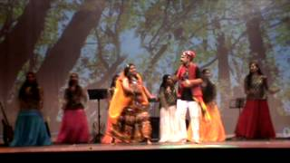 Karutha penne dance - lima onam 2014