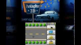 3DS eShop Game Parking Star 3D (Game Intro)