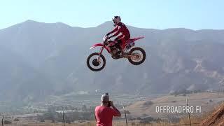RAW Ken Roczen  Cole Seely Honda test track