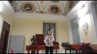 "Borbála Ujvári performing ""Music for a Bird"" by Hans-Martin Linde"