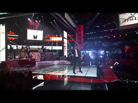 Robin Thicke, Pharrell Williams And T I    Blurred Lines    The Voice Highlight