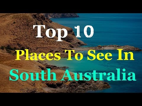 South Australia Tourist Attractions