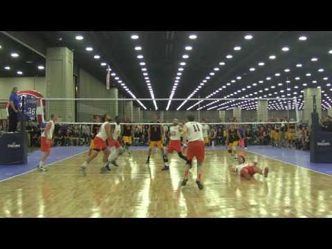 2016 NCVF Nationals Semifinals - Virginia Tech A vs. UW-Oshkosh A