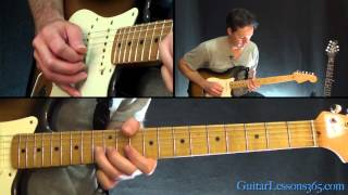 The Beatles - Come Together Guitar Lesson