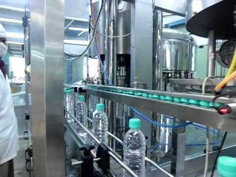 Bisleri Drinking Water Full Automation Process
