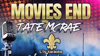 Tate McRae - Movies End (Karaoke Version)