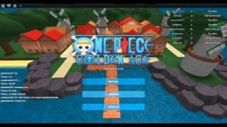 Roblox One Piece Golden Age parte 2