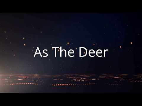 As The Deer - Female version (with lyrics)