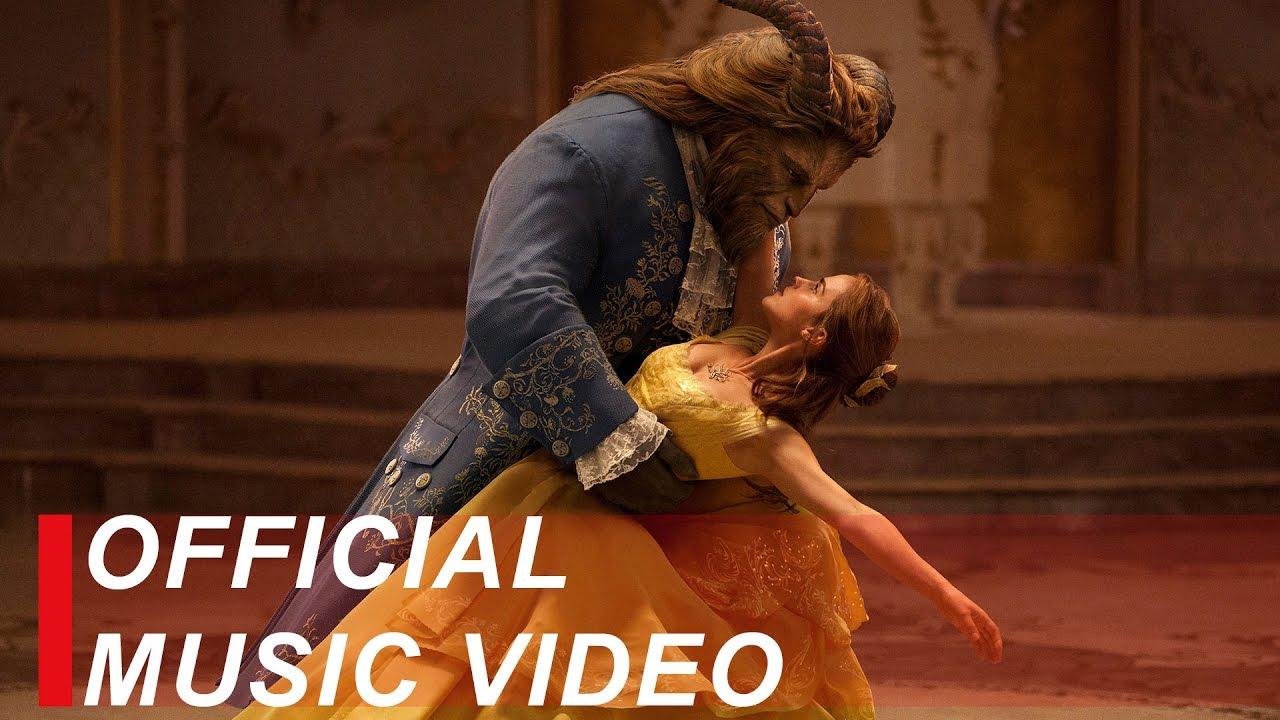 Beauty And The Beast Music Video Ariana Grande John Legend Youtube
