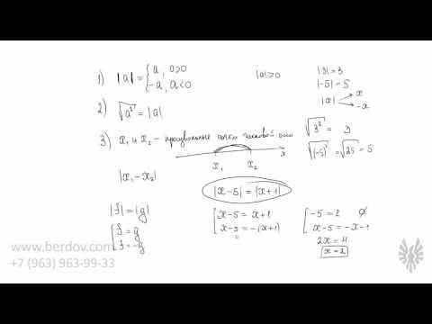 Решение задач с модулем и корнем задачи и решения по ндс