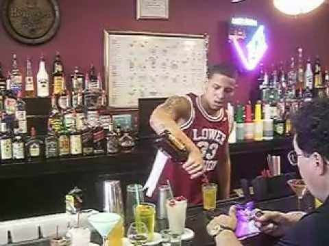 National Bartenders School - Stephen's Mixing Test 5/3/2013