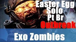 Exo Zombies Outbreak Easter Egg Solo Pt-Br | Game over, man | Fim de Jogo Conquista