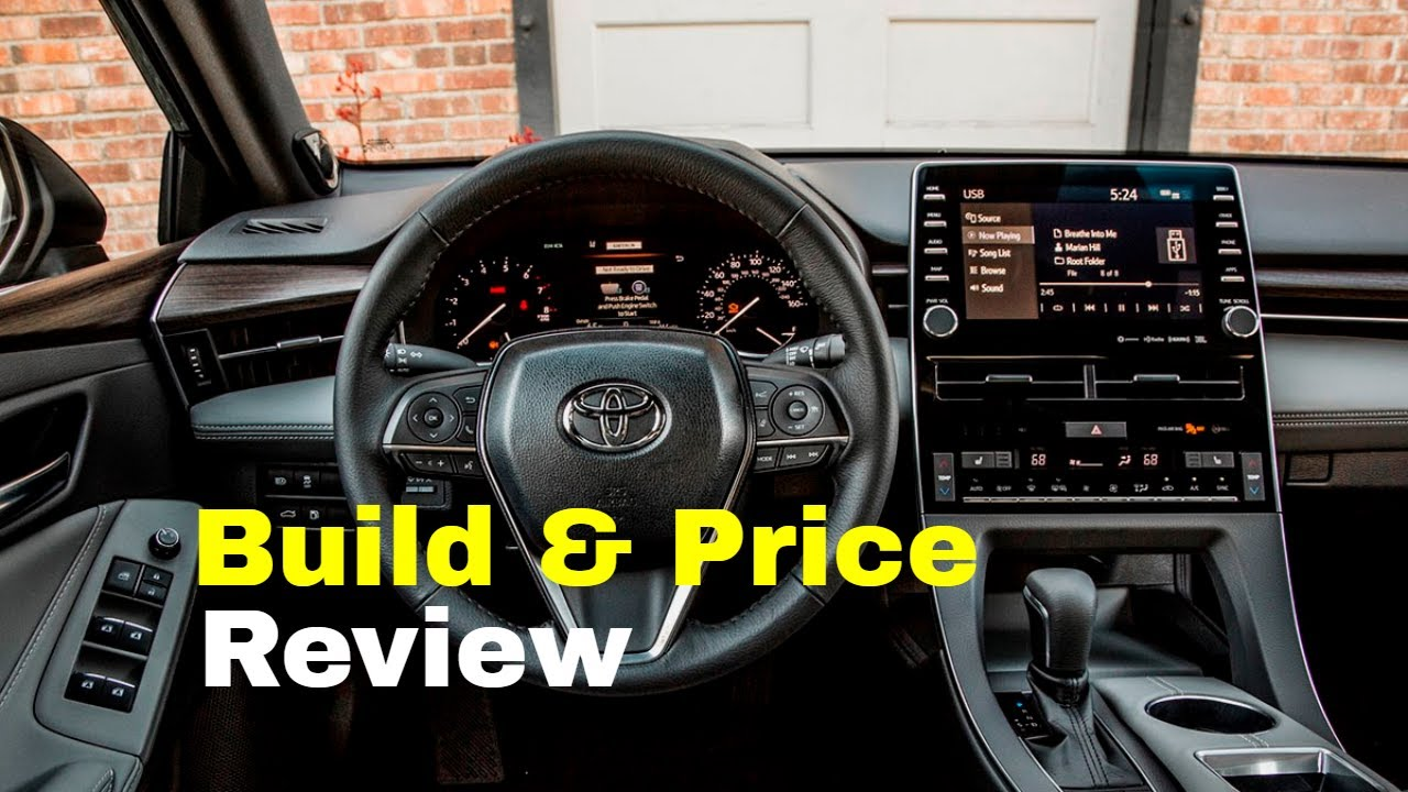 Toyota Build And Price >> 2019 Toyota Avalon Limited Sedan Build Price Review Features