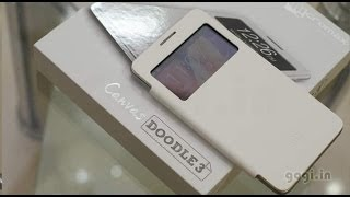 Micromax Canvas Doodle 3 A102 review - dual core with 6 inch screen