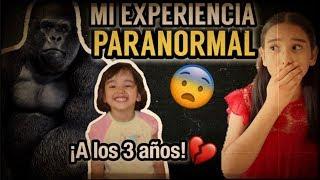 MI EXPERIENCIA PARANORMAL / ¡VI EL ESPÍRITU DE UN GORILA! #STORYTIME thumbnail