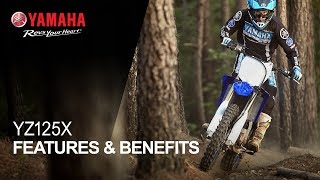 Yamaha YZ125X Features & Benefits
