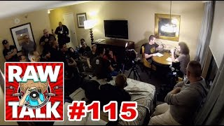 LIVE From my Hotel Room in Las Vegas: RAWtalk Episode #115