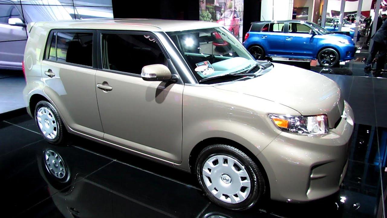 2013 scion xb exterior and interior walkaround 2013 detroit auto show youtube
