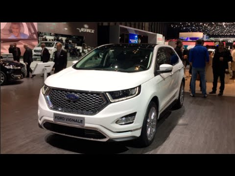 ford edge vignale 2016 in detail review walkaround. Black Bedroom Furniture Sets. Home Design Ideas