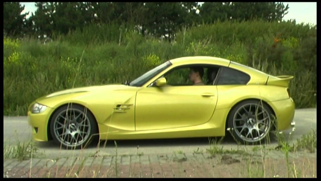Bmw Z4 Coupe Individual Ph 246 Nixgelb Ac Schnitzer Youtube