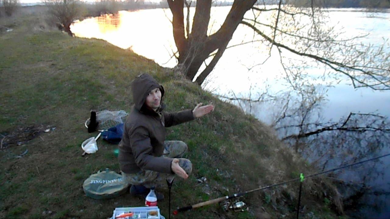 фидерная ловля в озере
