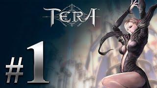 TERA - Прокачка Мистика - #1 - Выбираем расу и класс в Tera online