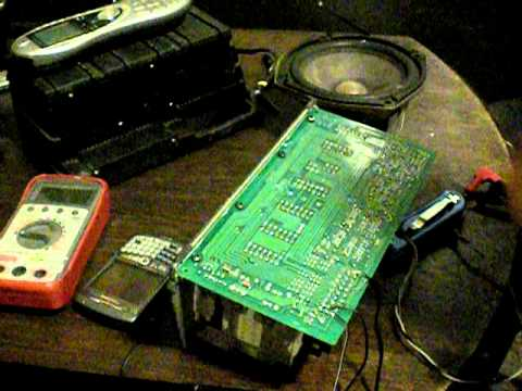 hqdefault mercedes bose amplifier repaired bench test youtube  at readyjetset.co