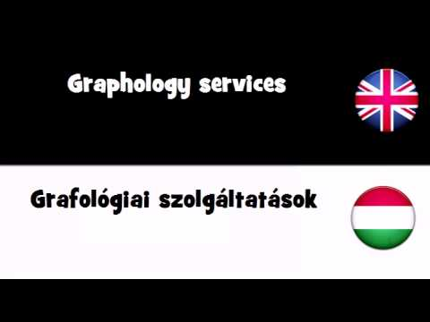 Header of graphology