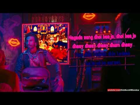 """Nagada Sang Dhol (Instrumental / Karaoke) [from """"Goliyon Ki Raasleela Ram-Leela""""] {2013}"""