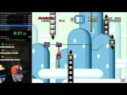 Super Dram World Any% World Record Speedrun 24:24 WR as of 1-3-17