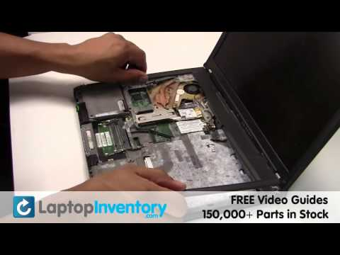 IBM LENOVO FAN T60 T61 Replacement Guide - Install Fix Replace - Laptop Heatsink CPU Fan