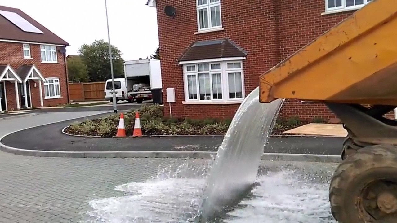 Permeable Paving In Action Youtube