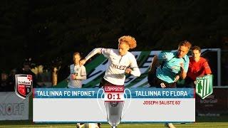 XXXIV voor 2015: Tallinna FC Infonet - Tallinna FC Fora 0:1 (0:1)