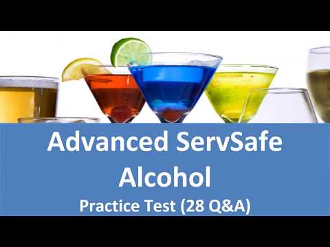 ServSafe Alcohol Practice Test Advanced Servsafe Alcohol