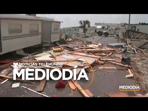 Inundaciones y tornados: los efectos de Dorian sobre EEUU | Noticias Telemundo