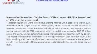 China Urban Rail Transit Market & Competition Status