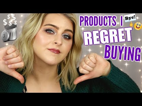 DISAPPOINTING PRODUCTS I REGRET BUYING // April 2019 thumbnail