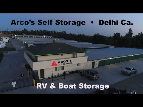 Delhi, California RV And Boat Storage